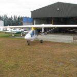 outside the Fiordland Aero Club