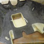 Part-mould mated with damaged cowling