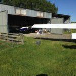 Otautau farm hangar
